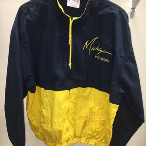 Other - U of M wolverines windbreaker jacket